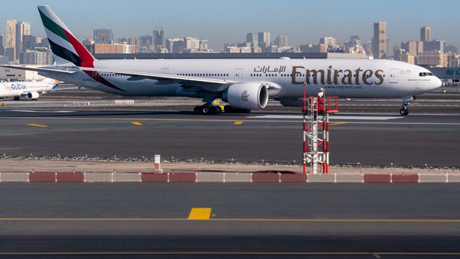 Airplane from Emirates